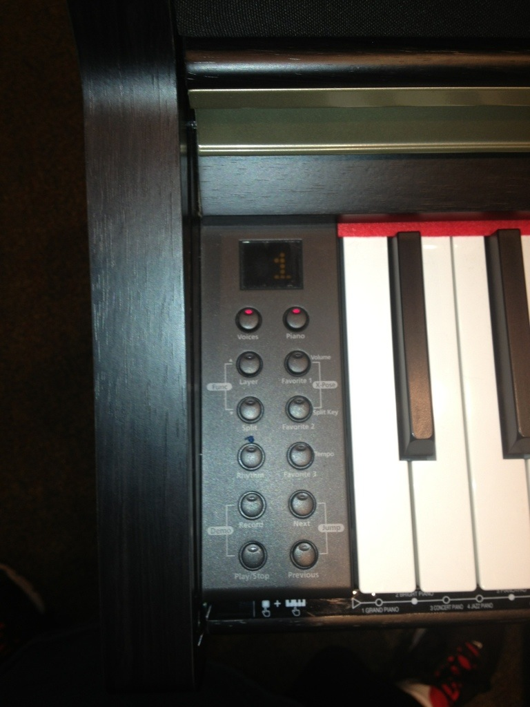 piano kurzweil mp10
