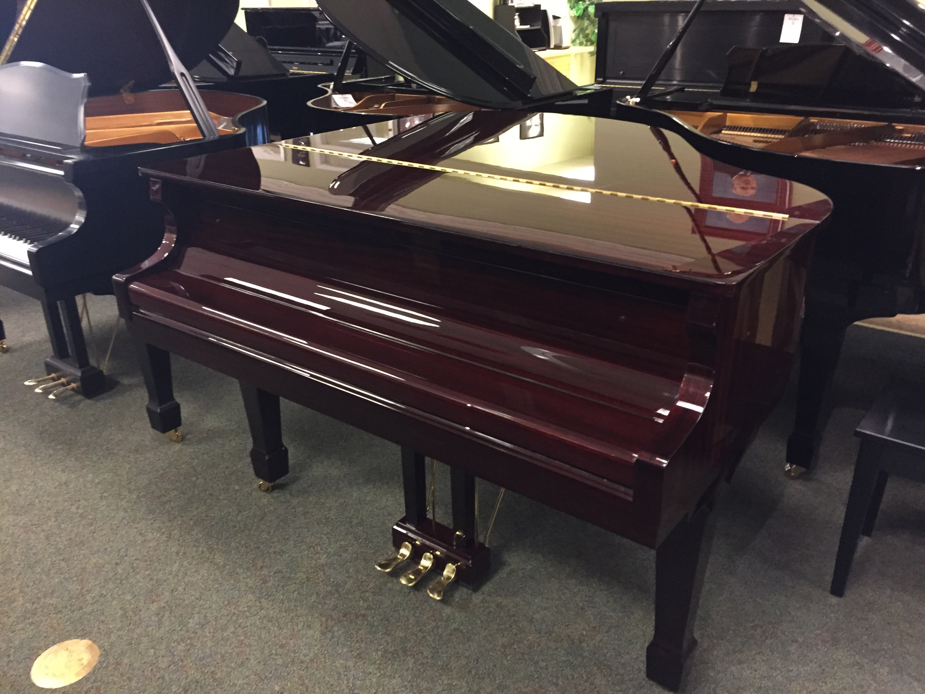 Hobart M Cable Gh 52 Grand Piano Hall Piano Company