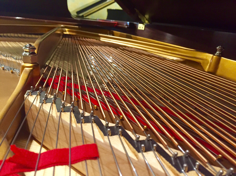 Steinway Model B Mahogany Grand Piano Hall Piano