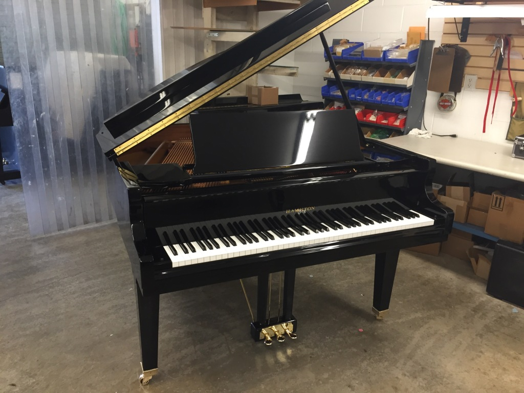 Hamilton model h391grand piano hall piano company warehouse for Piano diviso