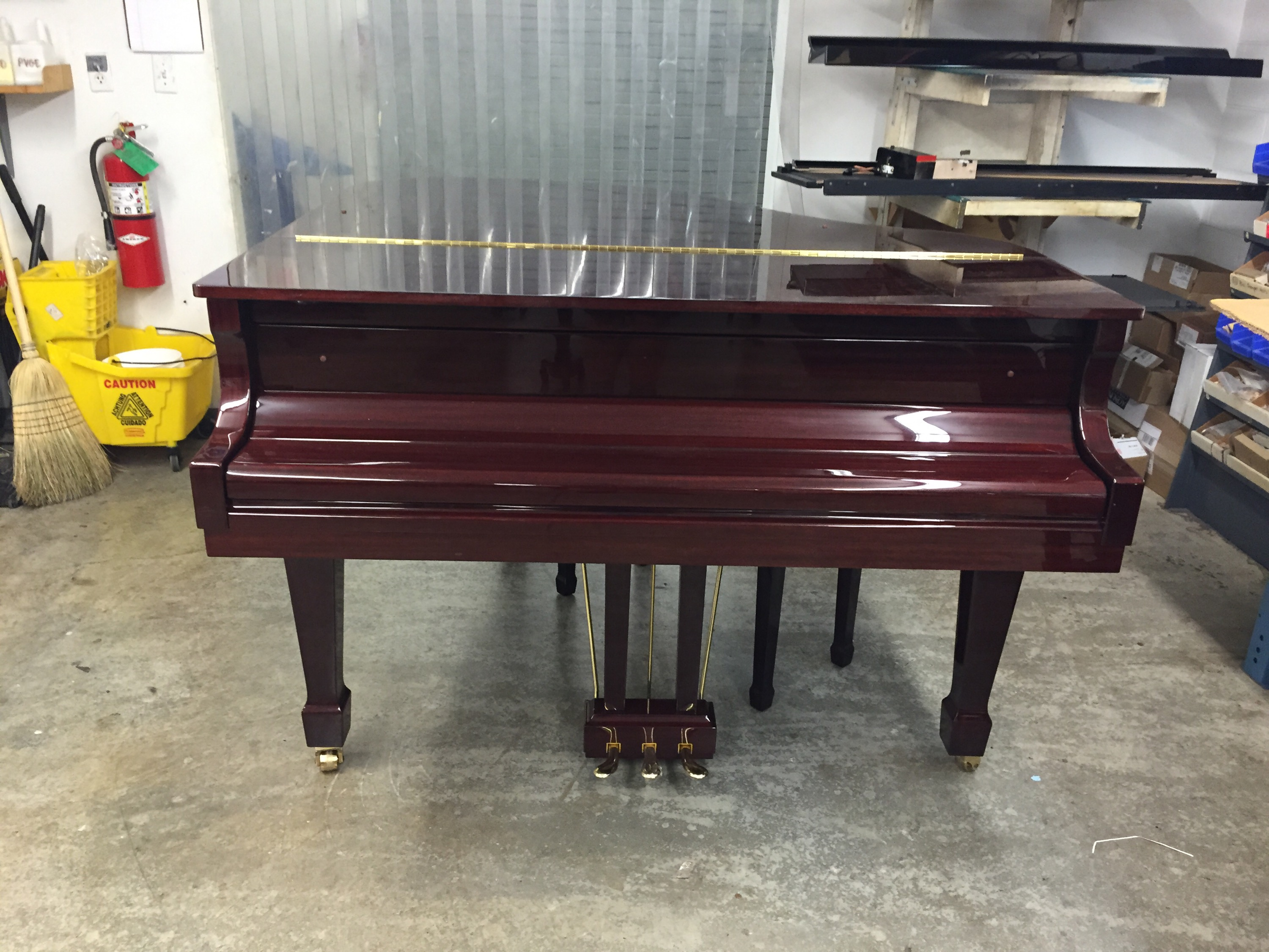 Kohler And Campbell Kig 50 Baby Grand Piano With Pianoscan