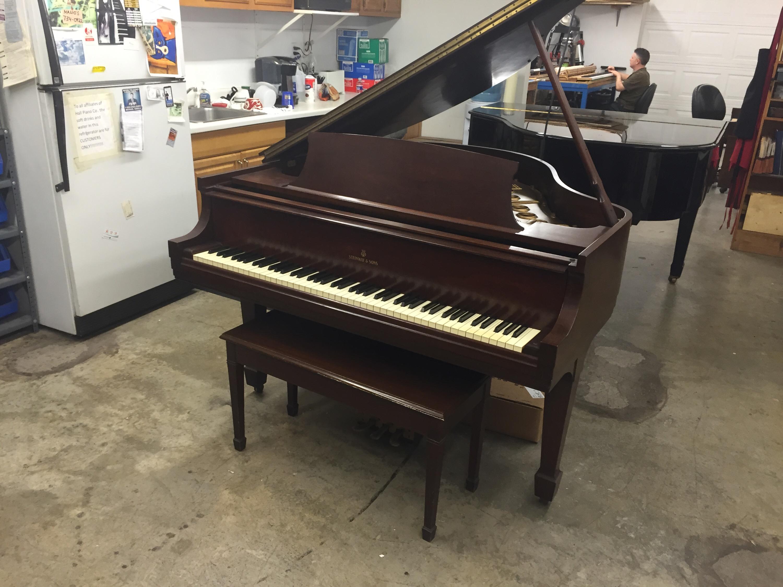 Steinway Model S Grand Piano Hall Piano Company Warehouse